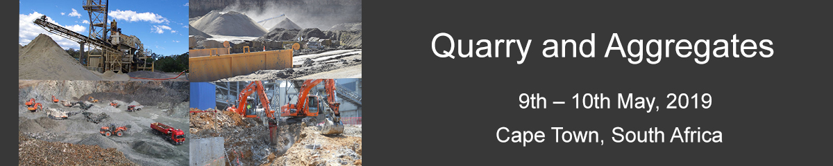 Quarrying and Aggregates Conference