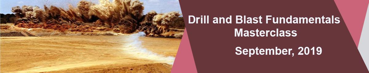 Drill and Blast Fundamentals Masterclass